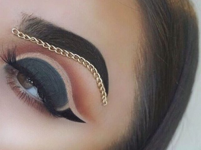 brow chain trend