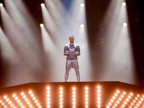 Eurovision 2018 Rehearsals: Austria fire up an oil rig for Cesar Sampson's top notch rehearsal