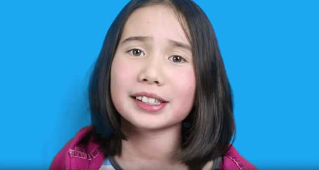 a60c86ea0cc9 Nine-year-old Lil Tay Cosgrove has proved hip hop is really a child s game  (Picture  YouTube)