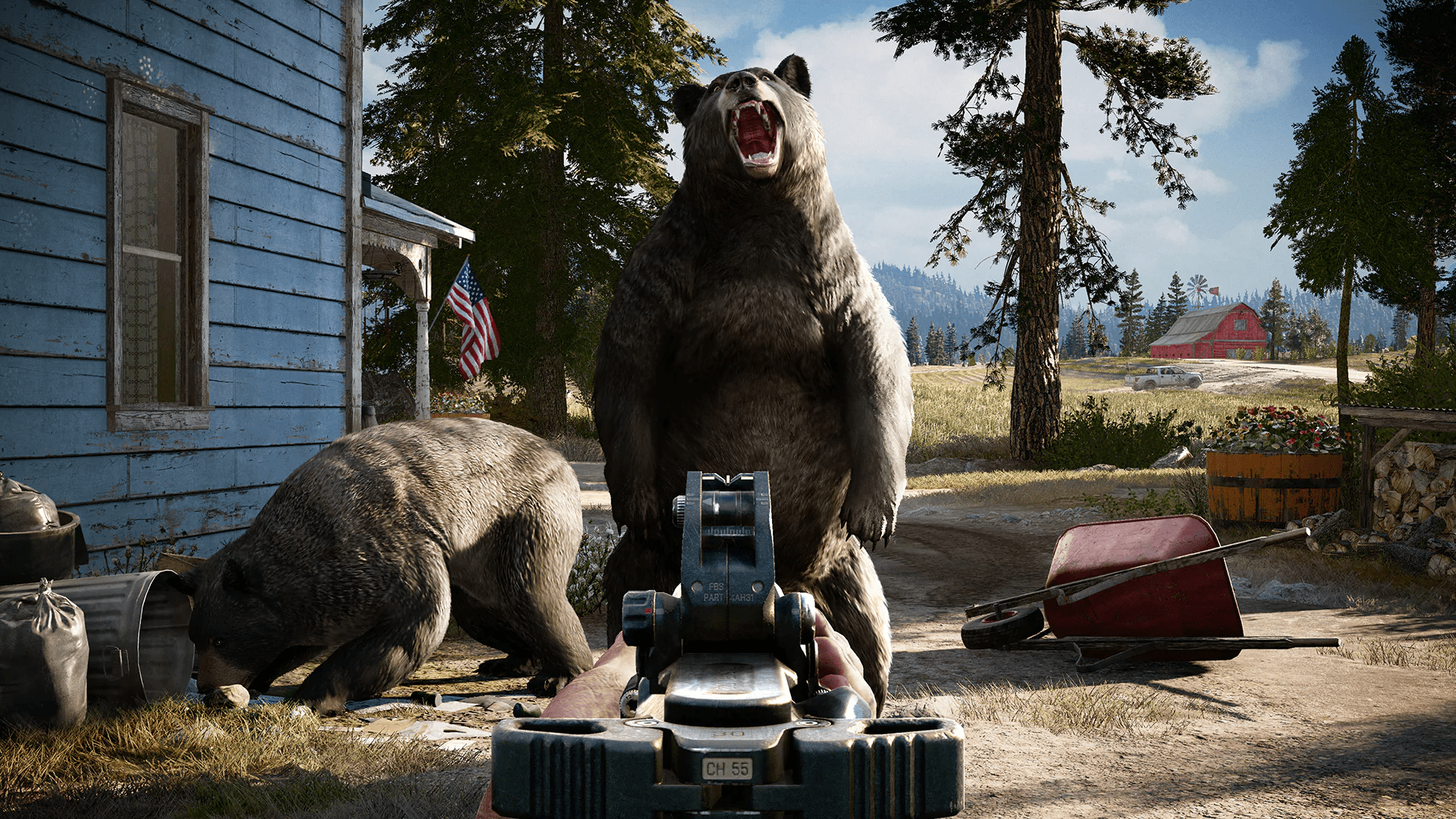 Far Cry 5 - you're only told the bear essential information