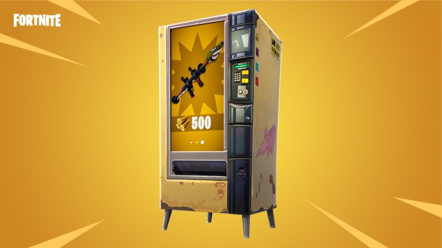 Fortnite update and patch notes: Vending machines and new