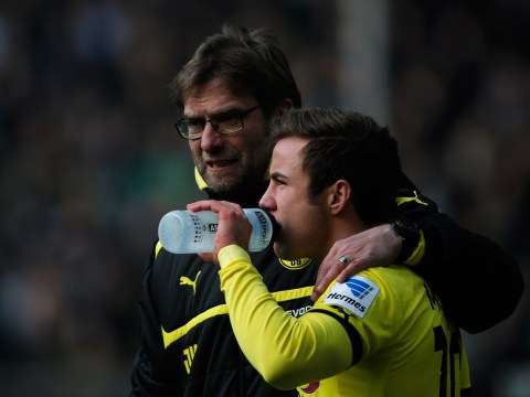 Mario Gotze reveals Jurgen Klopp talks and rates Liverpool's Champions League chances