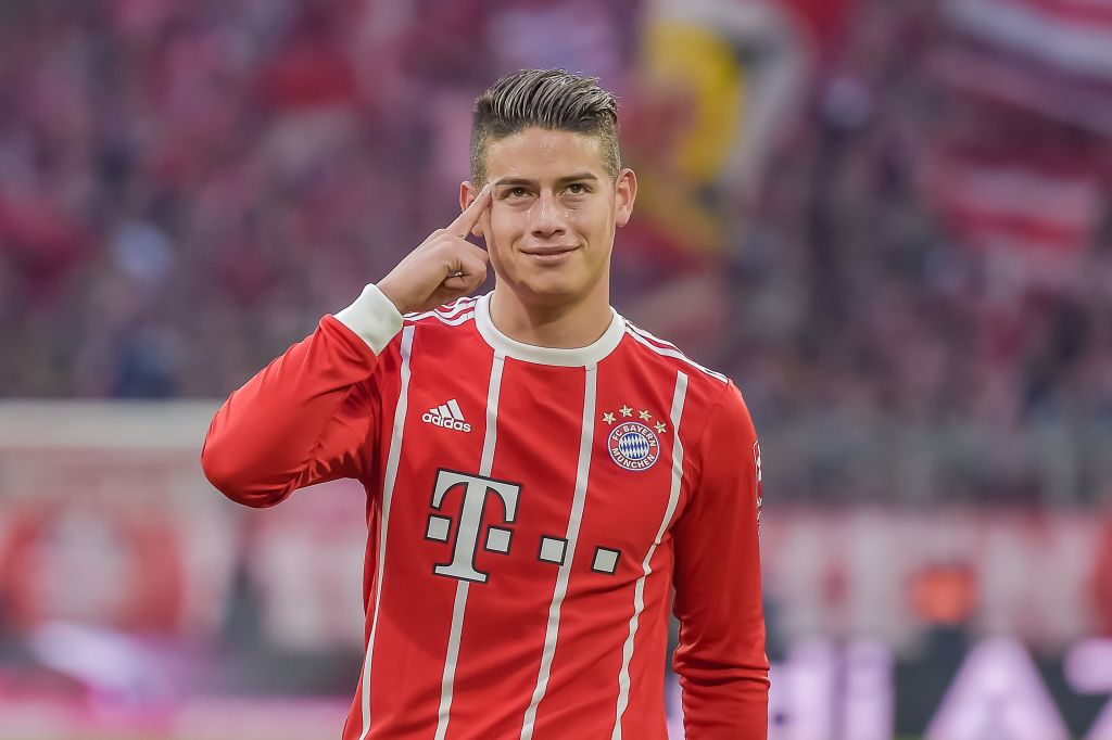 Manchester United delete James Rodriguez post on official account during Manchester City win