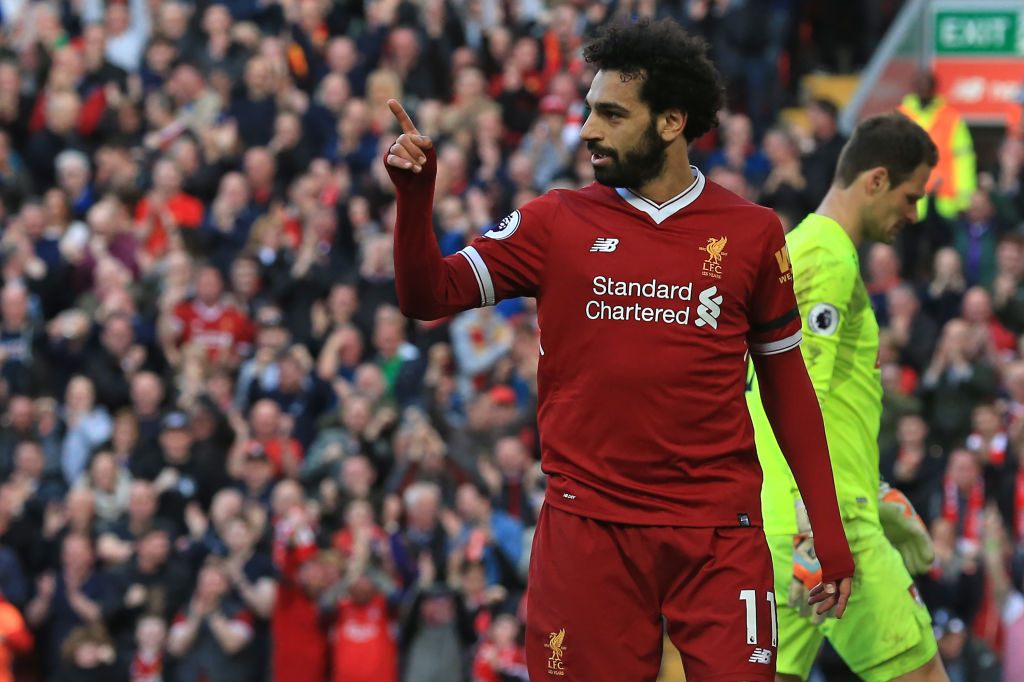 Mohamed Salah breaks Didier Drogba's record in Liverpool's win over Bournemouth