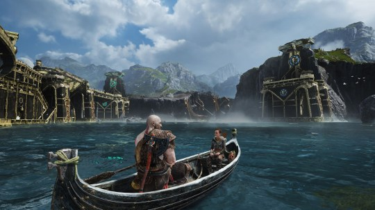 god of war ps4 release date uk