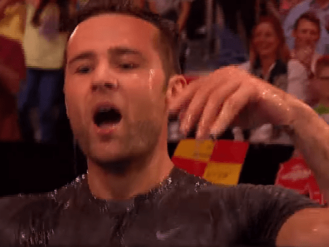 McFly's Harry Judd leaves fans 'hot and bothered' after losing to jester on Ninja Warrior