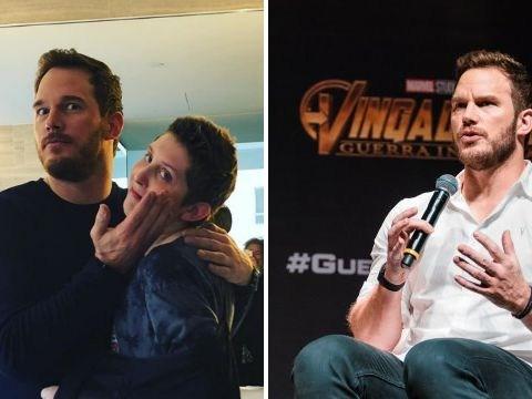 Avengers star Chris Pratt gets hair and makeup done to tick off teen cancer patient's bucket list