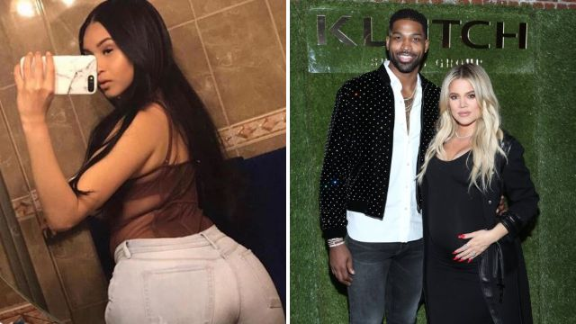 Woman who claims to have sex tape with Khloe Kardashian's boyfriend Tristan Thompson shares X-rated video