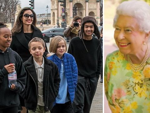 Angelina Jolie gives insight into what The Queen really cares about as she talks to her kids: 'She's a lovely lady'