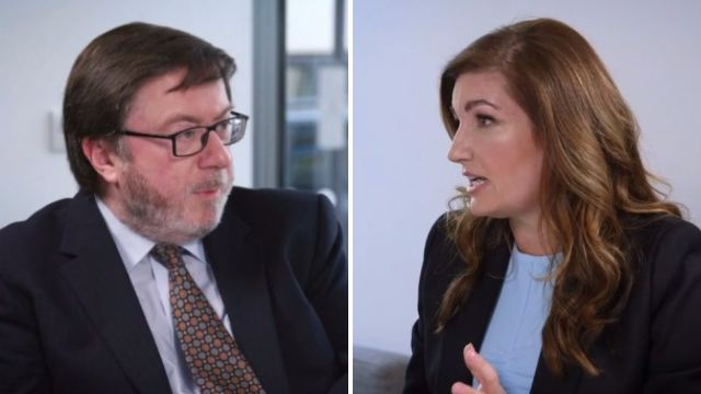 Karren Brady clashes with man who says women are to blame for not getting paid as much as men