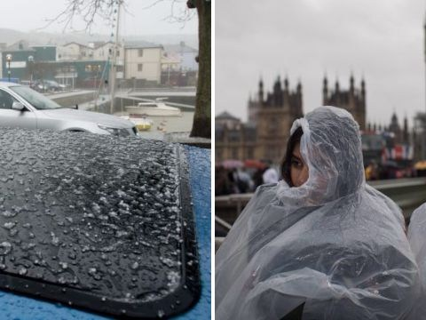 Get ready for thunder and hail as Britain waves goodbye to glorious spell