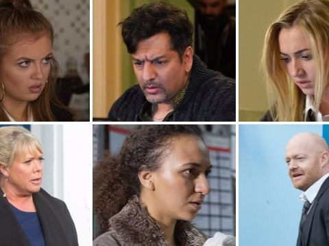 EastEnders preview: 25 new spoiler pictures reveal Max's return and a child kidnap