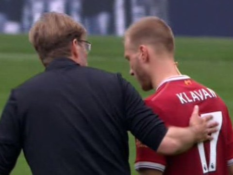 Jurgen Klopp upset with Ragnar Klavan after Liverpool draw with West Brom