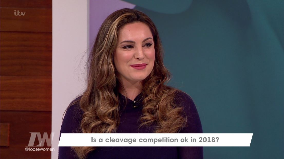 Kelly Brook insists she's 'more than her boobs'
