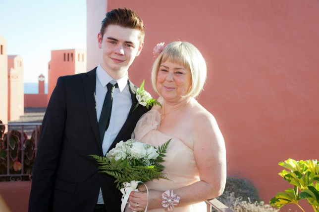 Ryan Riley from Life Kitchen and his late mother