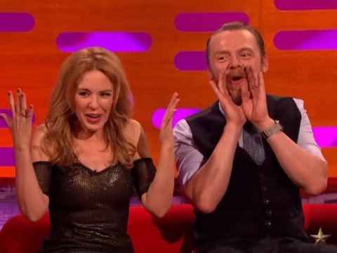 Remember when Kylie Minogue dumped somebody else's date on The Graham Norton Show?