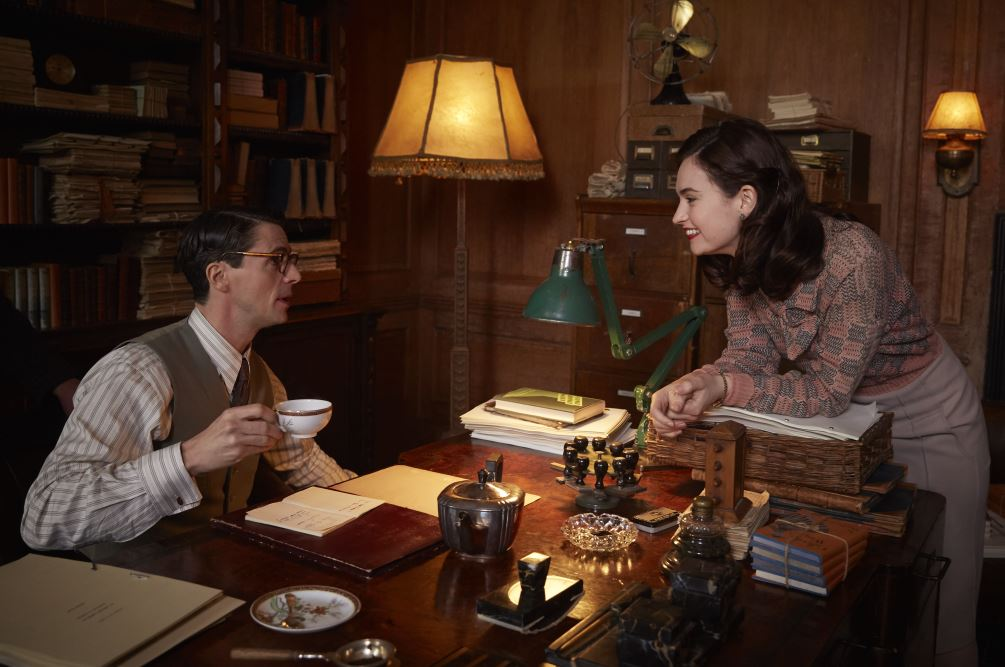 The Guernsey Literary movie release date, trailer, running time and cast joining Lily James