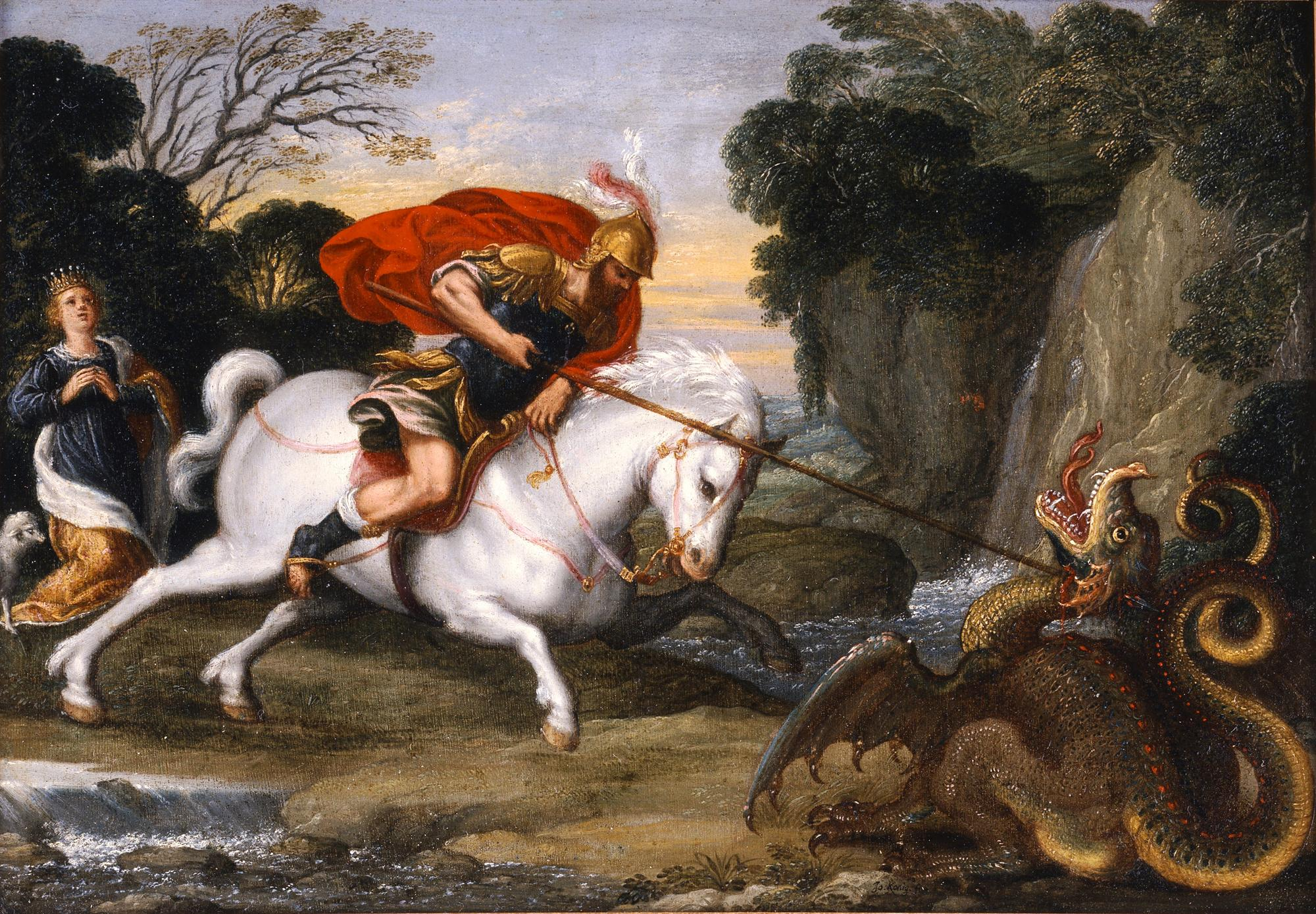 The Legend: Did St George really kill a dragon?