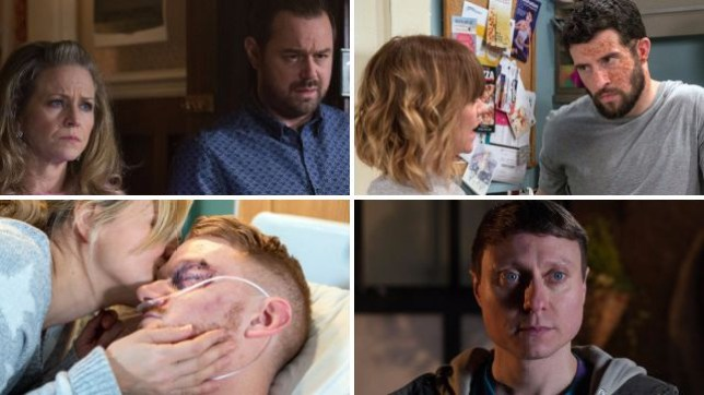 Soap spoilers for Mick and Linda in EastEnders, Ross and Rhona in Emmerdale, Gary and Sarah in Coronation Street and Milo in Hollyoaks