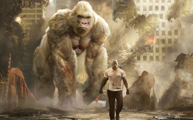 Rampage - the least requested video game movie ever