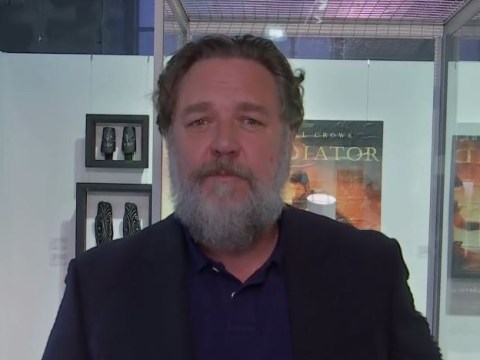 Russell Crowe explains reason behind divorce auction as he reveals how he acquired a dinosaur skull from Leonardo DiCaprio
