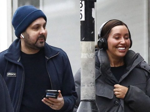 Dynamo smiles with wife as he's seen for first time since detailing excruciating Crohn's disease struggle