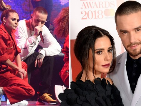 Liam Payne returns to the stage with 'innocent' backing dancer as Cheryl sets the record straight