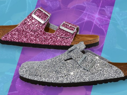 Get your feet ready for these Opening Ceremony x Birkenstock glitter sandals