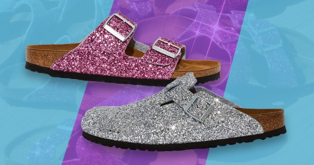 check out ea752 636e0 Opening Ceremony x Birkenstocks glitter sandals are here ...