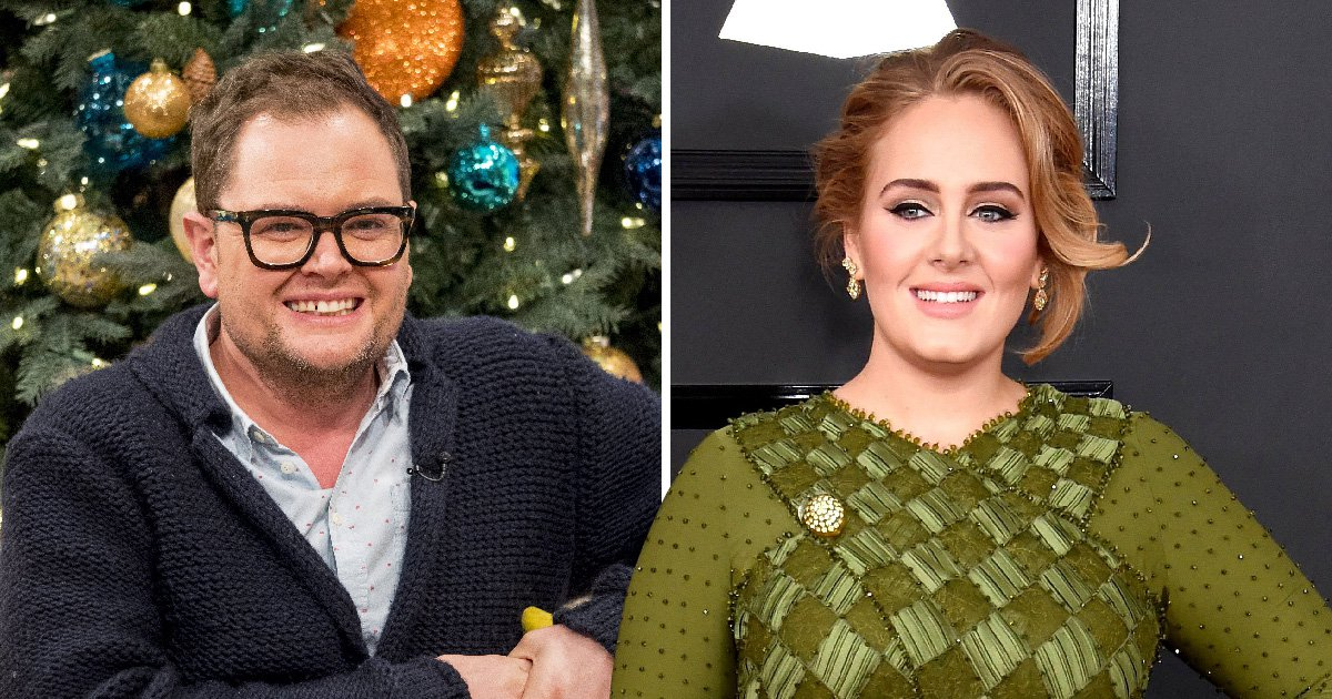 Alan Carr shows off life jacket gift from Adele's Titanic-themed birthday and now it's getting a little weird