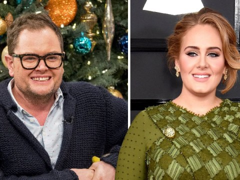 Alan Carr got married in Adele's back garden – and she even planned the wedding