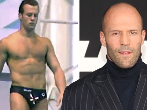 Jason Statham diving in the Commonwealth Games in 1990 is the flashback of all flashbacks