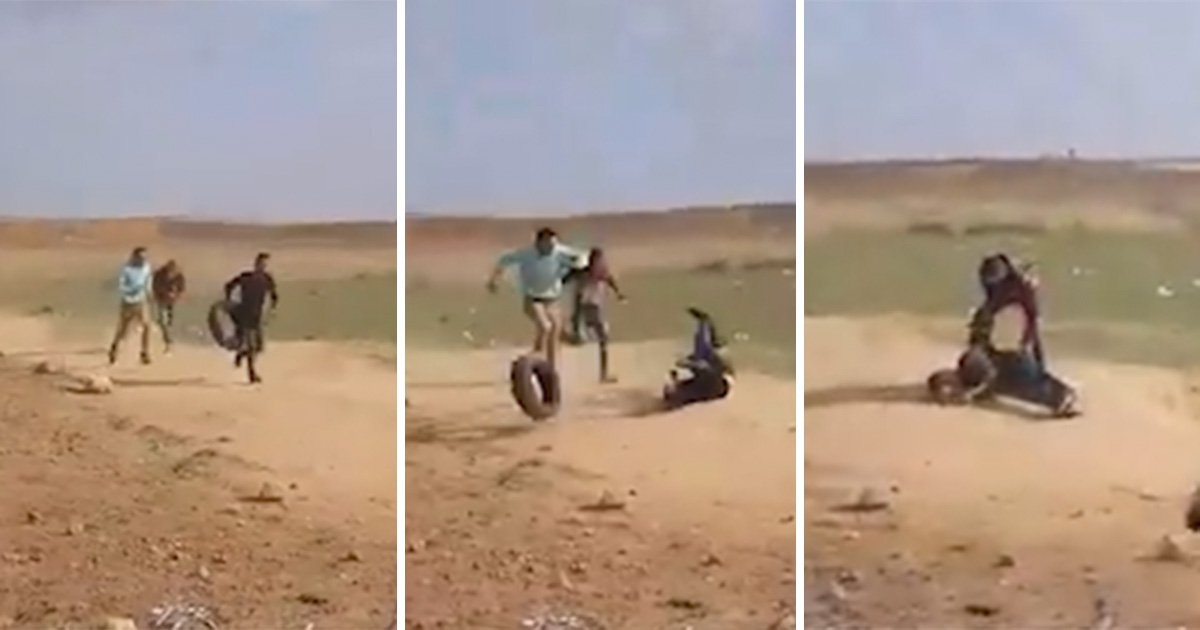 'Unarmed' teenager shot in back as he runs from Israeli military during Gaza protest