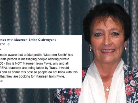 Clairvoyant discovers fraudster impersonating her to con people