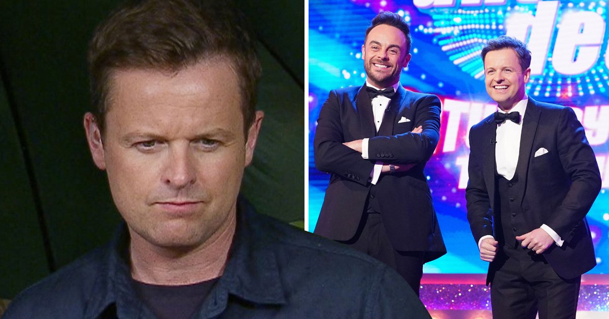 'It's tinged with sadness': Declan Donnelly gives touching shoutout to Ant McPartlin during Saturday Night Takeaway's finale