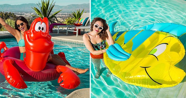 These Disney Pool Floats Are A Summer Essential For Every Mermaid