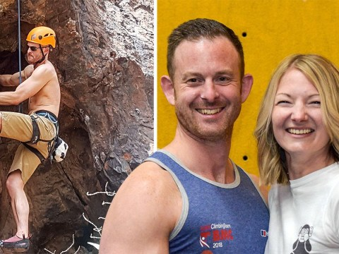 Climber who lost his sight shares how his partner has become his eyes
