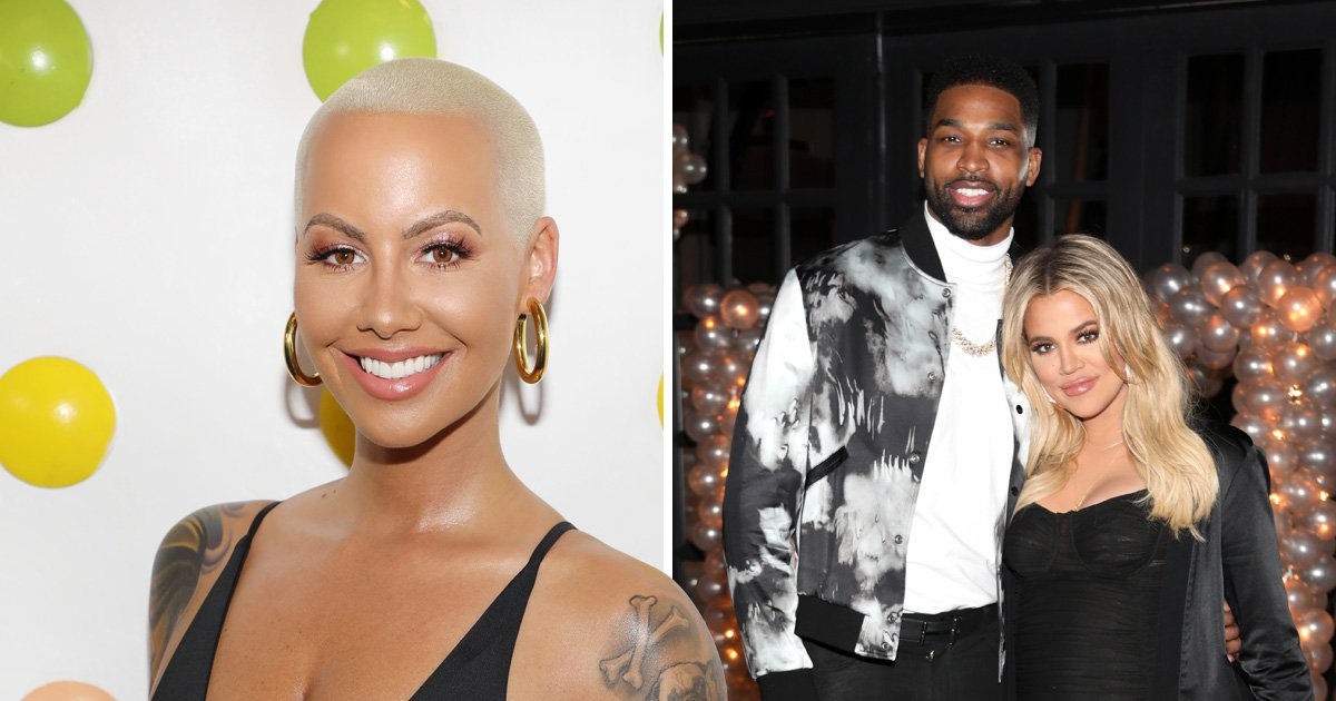Amber Rose throws support behind rival Khloe Kardashian over Tristan Thompson cheating scandal