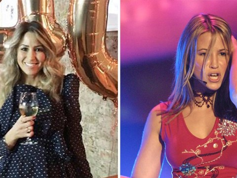 Rachel Stevens appears to have discovered the elixir of youth as she turns 40