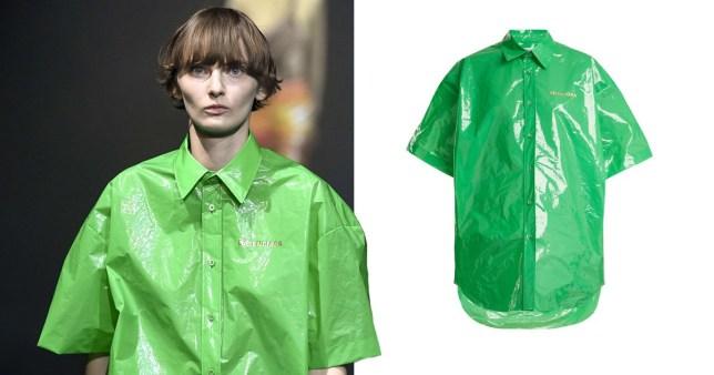 a8be65e8104 Balenciaga is at it again with this plastic bag shirt | Metro News