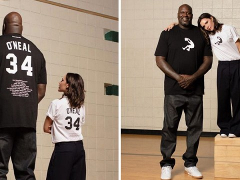 Victoria Beckham shares epic picture with Shaq as she laughs at their huge height difference