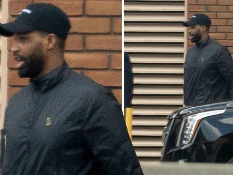 Tristan Thompson spotted leaving hospital after Khloe Kardashian gives birth to baby girl amid more cheating claims