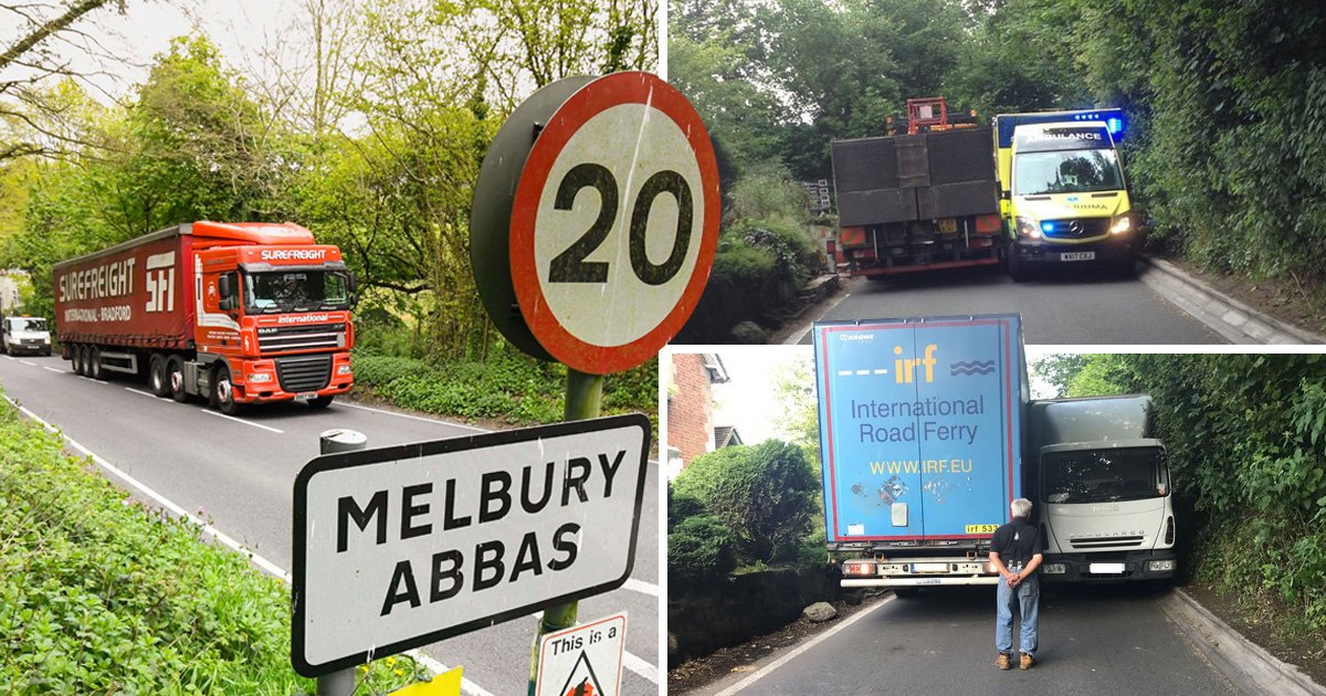 Village's war against council that 'sends HGVs past their homes'