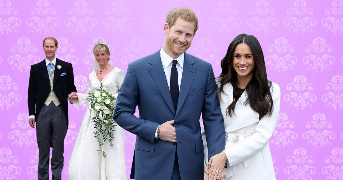 Ahead of Harry and Meghan's wedding date – a list of every royal wedding that's happened at Windsor Castle