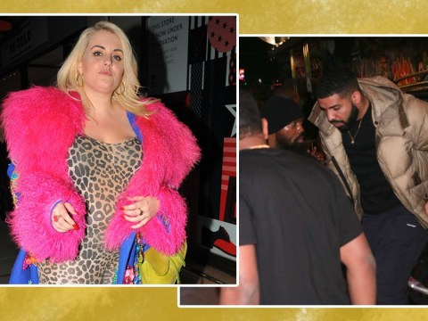 Drake parties at Fendi bash alongside model Felicity Hayward and you wish you were there
