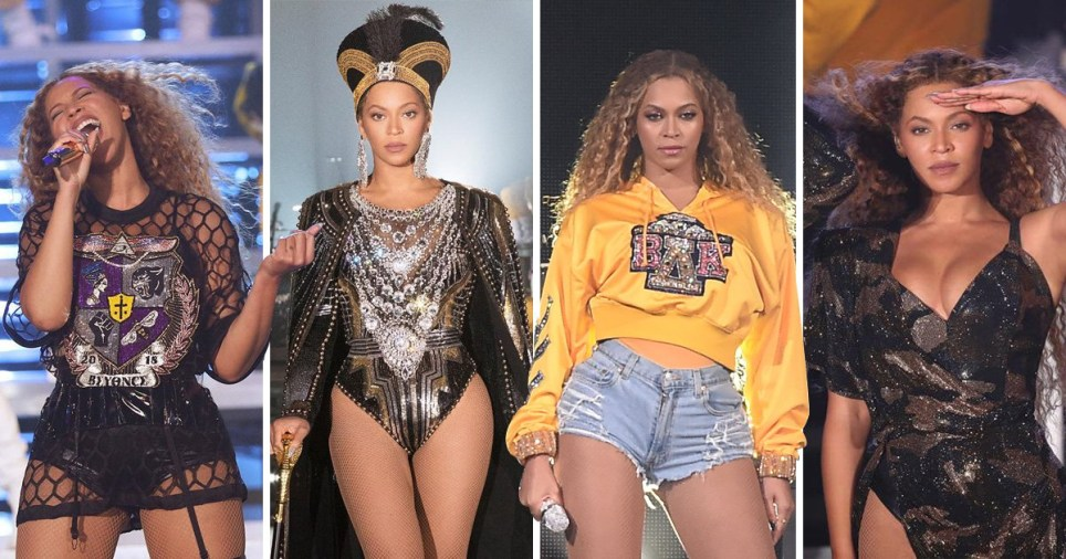beyonce's performance in pictures