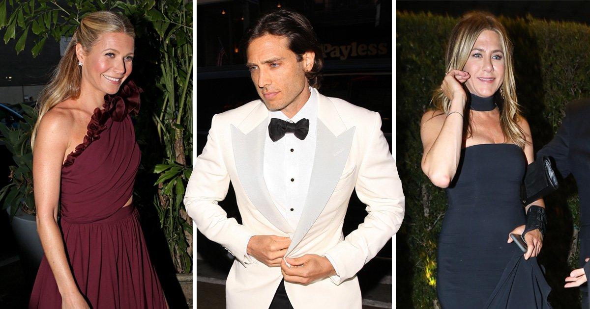 Jennifer Aniston looks fire as she leads star-studded guest list for Gwyneth Paltrow's 'secret wedding to Brad Falchuck'