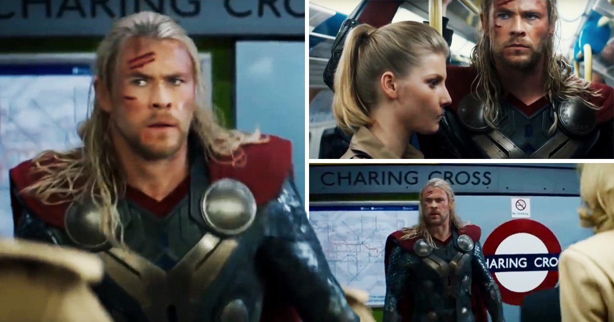 People are still annoyed about Thor 2 playing fast and loose with the tube's routes – one man has the perfect solution