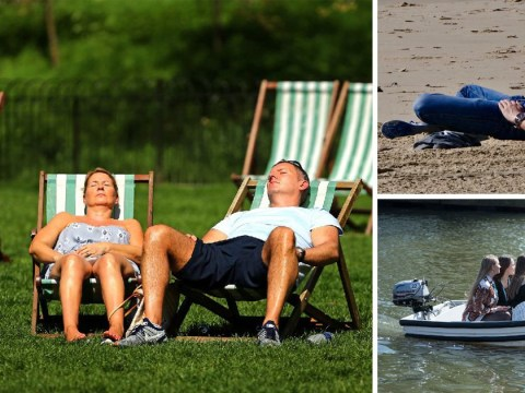 It's already hotter than yesterday as sizzling spring kicks in
