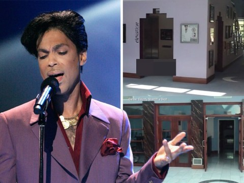 Police release footage from inside Prince's home on the day he died